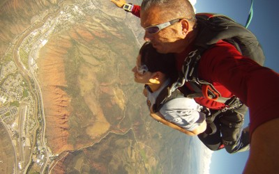 Your Passion is Like Sky Diving